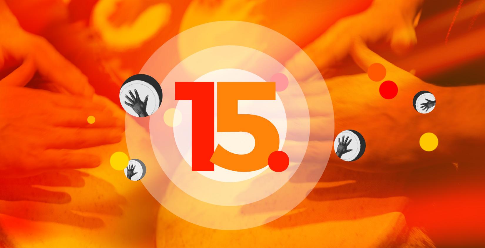 Wir starten ins 15. Jahr!