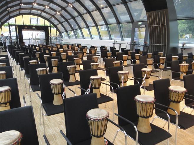Drum Conversation - Set Up