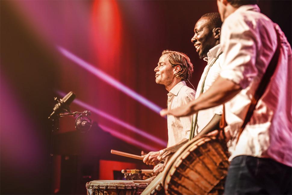 Drum Events mit DRUM CONVERSATION