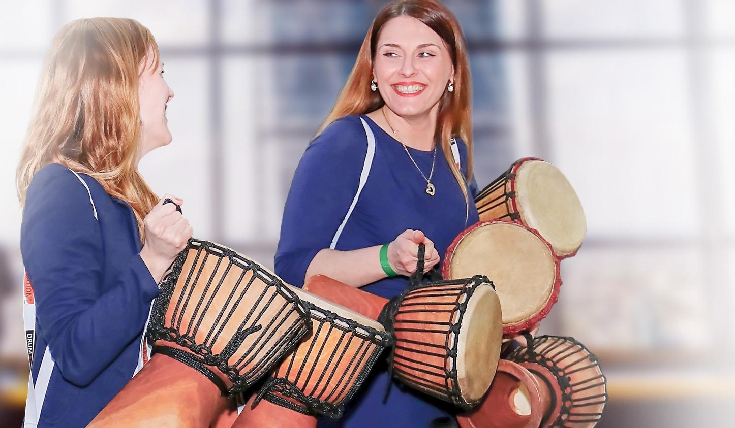 Drumming Events mit DRUM CONVERSATION